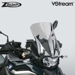 Sportovní plexi ZTechnik VStream 38cm pro BMW F850GS/A, lehce kouřové