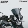 Sportovní plexi ZTechnik VStream 38cm pro BMW F850GS/A, tmavě kouřové