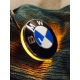 LED blinkry v logu BMW pro F800GS