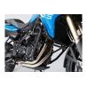 Ocelový padací rám od SW-Motech pro BMW F800GS, F700GS a F650GS 2008-2012. černý průměr trubky 27mm
