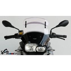 Plexi s deflektorem MRA Vario Touring 34,5cm pro F700GS, čiré