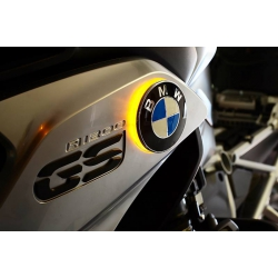 LED blinkry v logu BMW pro R1200GS LC 2013+
