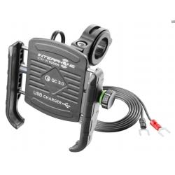 Univerzální držák Interphone Motocrab pro telefony s USB dobíjením
