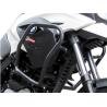 Velmi pevný padací rám značky Heed pro BMW G650GS/Sertao 2010-2015, který dobře ochrání horní část motocyklu. Barva: černá