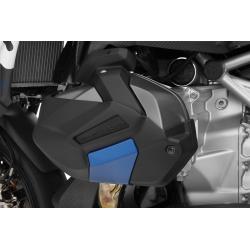 Ochranné kryty víka ventilů Wunderlich pro R1250GS/A 2018+, černo-modré