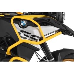 Horní padací rám Wunderlich pro BMW F750GS, žlutý - 40 Years GS