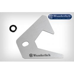 Kryt ABS senzoru Wunderlich pro BMW R1250GS/A, R1200GS/A LC 2013-2018, stříbrný