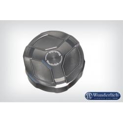 Hliníkové víčko zadní brzdové nádobky Wunderlich pro BMW R1250GS/A, R1200GS/A LC 2013-2018, titanium