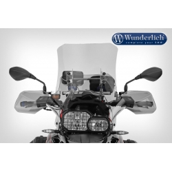 Nastavitelné plexi Wunderlich 41-52cm pro BMW F800GS 2008-2012, F650GS 2008-2012, čiré