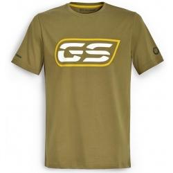 Pánské tričko s potiskem GS, olivové