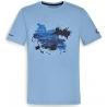 Pánské tričko s potiskem R1250GS, modré