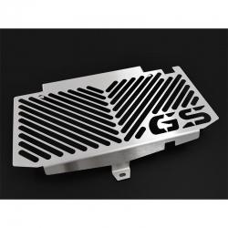Nerezový kryt chladiče Ibex s logem GS pro F700GS, F650GS 2008-2018, stříbrný