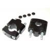 Zvýšení řidítek 30mm nahoru pro 22mm řidítka, černé slouží pro řidítka o průměru 22mm(např. R1150GS/A, R1100GS, F650GS/Dakar 2000-2007) černé zvýšení o 30mm kvalitní výroba na CNC v ČR cena je za pár včetně montážní sady