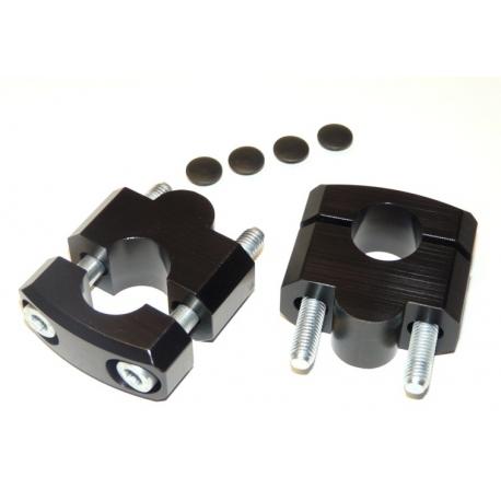 Zvýšení řidítek 25mm nahoru pro 22mm řidítka, černé
