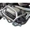 Spodní padací rám Heed pro BMW R1100GS, R850GS, stříbrný