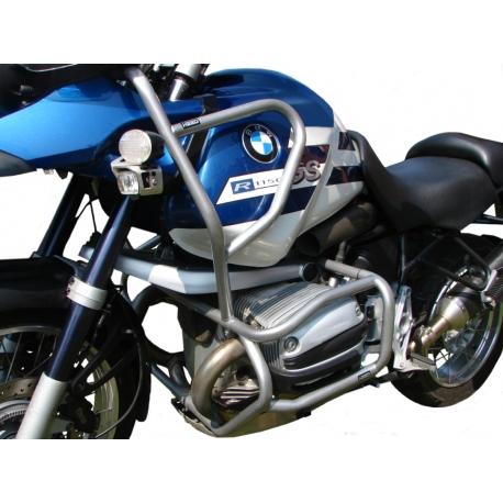 Spodní padací rám Heed pro BMW R1150GS, stříbrný