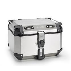 Hliníkový topcase Kappa 48l (model 2021), stříbrný