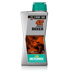 Motorový olej Motorex BOXER 4T 15W-50 1L