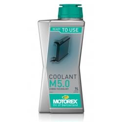 Nemrznoucí chladící kapalina pro motocykly Motorex Coolant M5.0 1L