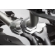 Zvýšení řidítek SW-Motech o 30mm nahoru, 22mm dozadu pro řidítka Ø28mm , stříbrné