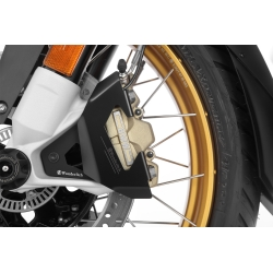 Kryty předních brzdových třmenů Wunderlich pro BMW R1250GS/A, R1200GS/A LC 2013-2018, černé
