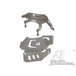 Kryty vstřiků Altrider R1200GS LC 2013-2018, stříbrné