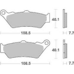 Sada brzdových destiček SBS na zadní kotouč pro BMW R1250GS/A, R1200GS/A LC 2013-2018
