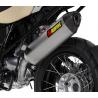 Zadní tlumič výfuku Akrapovič, včetně mont. sady pro BMW R1200GS/Adventure 2010-2012 (dvouvačka)