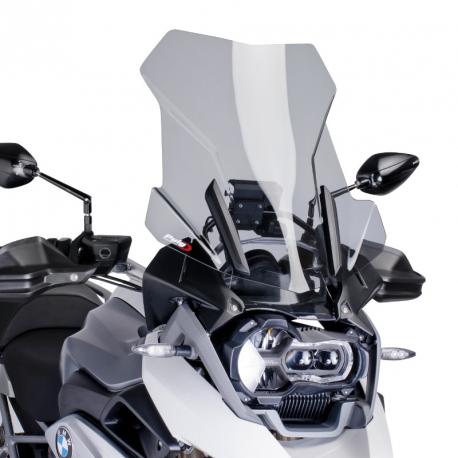 Plexi cestovní vysoké 51cm Puig pro BMW R1250GS/A, R1200GS/A LC 2013-2018, lehce kouřové