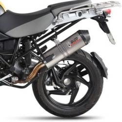 Výfuk MIVV Oval Titan/Carbon pro R1200GS/A 2010-2012