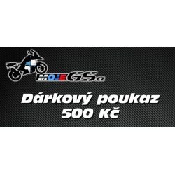 Dárkový poukaz na nákup na MojeGS.cz 500Kč - 10 000 Kč