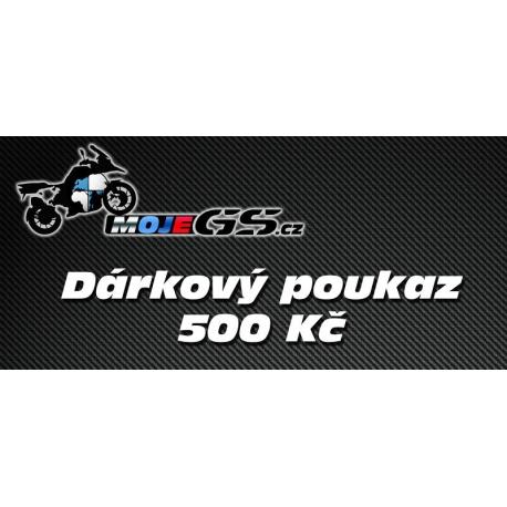 Dárkový poukaz na nákup na MojeGS.cz 500Kč - 10 000 Kč
