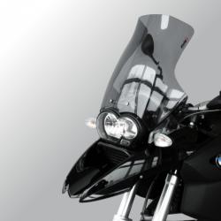 Zvýšené plexi Puig 46cm pro R1200GS 2004-2012, lehce kouřové