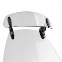 Přídavný nastavitelný deflektor Puig Clip-On, čirý, kouřový