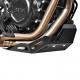 Hliníkový kryt motoru BS pro F800GS, F700GS, F650GS Twin, černý, stříbrný