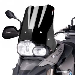 Plexi Puig 38cm pro F800GS, F650GS 2008-2012, černé