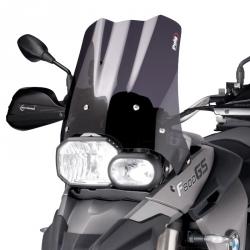 Plexi Puig 38cm pro F800GS, F650GS 2008-2012, tmavě kouřové