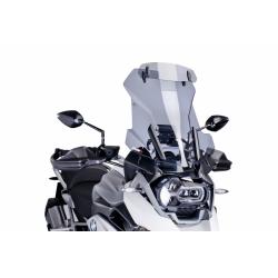 Plexi Puig cestovní vysoké 51cm s deflektorem pro BMW R1250GS/A, R1200GS/A LC 2013-2018, kouřové