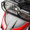 Kryt předního světla od SW-Motech pro BMW F800GS 2013-2018, F800GS Adventure 2013-2018, F700GS 2012-2018. Chrání vaše světlo před poškozením. Nezbytný doplněk pro jízdy mimo silnice.