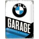 Plechová cedule BMW Garage 30x40cm
