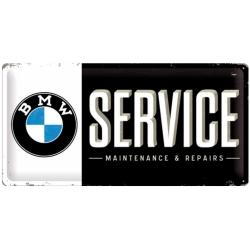 Plechová cedule BMW Service 50x25cm