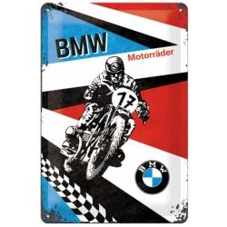 Plechová cedule BMW Motorräder 20x30cm