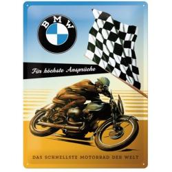 Plechová cedule BMW Motorrad 30x40cm