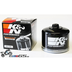 Olejový filtr K&N pro R1250GS/A, R1200GS/A LC 2013-2018, F850GS, F800GS/A, F750GS, F700GS, F650GS 2008-2012