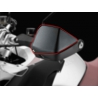 Náhrada za standardní nízké blastery/kryty rukou pro BMW R1200GS/Adventure 2004-2013 (K25) Poskytuje lepší ochranu před větrem a deštěm. Sadapro levou a pravou stranu. Materiál: Polyamid PA6, odolný proti nárazu a UV záření Barva: černá Pasuje pouze na černo-šedé blastry2004-2007 a2008-2013 Nepasuje na staré celé černé blastry!