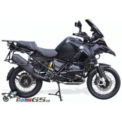 Elektronický výfuk KessTech matt black pro BMW R1200GS/A LC 2013+