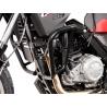 Ocelový padací rám od značky SW-Motech pro BMW G650GS. Včetně montážního materiálu. Barva: Černá