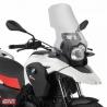 41cm vysoké cestovní plexi od Givi/Kappa pro BMW G650GS/Sertao poskytuje lepší ochranu proti větru na delších cestách. Vyšší o 22cm než originální štít. Barva: čirá Výška: 41cm Šířka: 39cm