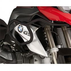 Černé horní padací rámy Givi pro BMW R1200GS LC 2013+