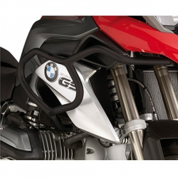 Černé horní padací rámy Givi/Kappa pro BMW R1200GS LC 2013-2016